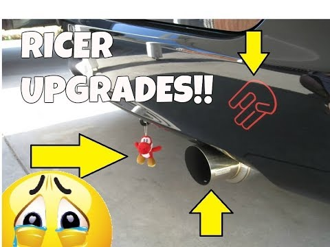 DONT DO THIS To Your Car Top 5 Most Popular Ricer Mods