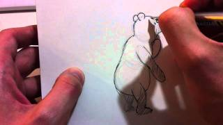 How to Draw Winnie the Pooh (EH Shepard Version) by Jim McGee