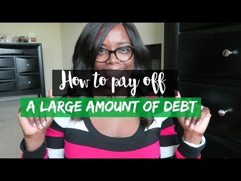 How to pay off a Large amount of Debt | Debt Free Friday