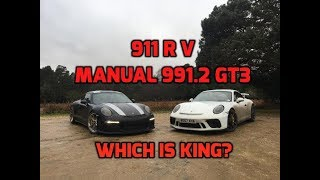 911 R V Manual 991.2 Gt3 –Which Is King?