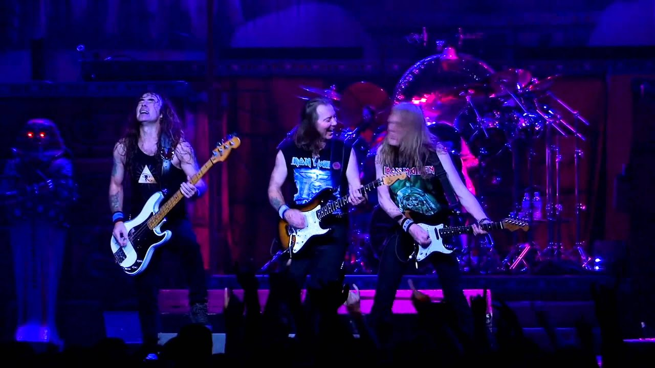 Iron Maiden - Hallowed Be Thy Name Live Flight 666 Full HD 1080p - YouTube