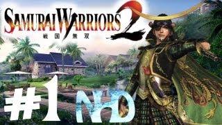 Let's Play Samurai Warriors 2 Masamune Date Ch1 Siege of Odawara Castle