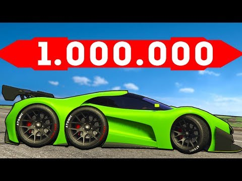 САМАЯ ДОРОГАЯ ТЮНИНГ БИТВА!! ПОТРАТИЛ 1.000.000$$$ НА ТЮНИНГ ГИПЕР КАРА В GTA - ТЮНИНГ БИТВА В ГТА 5