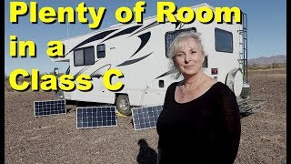 Today we take a tour of a very nice, older Class C RV owned by Kim,...
