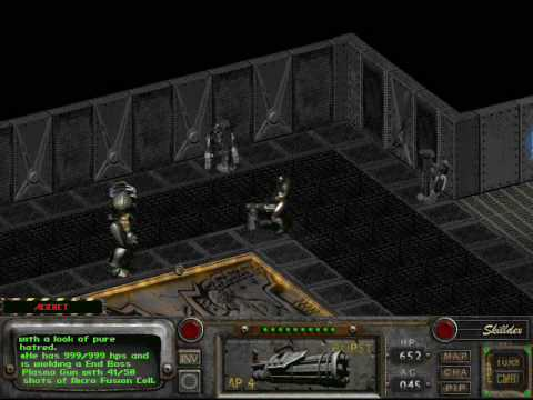 Fallout2 Frank Horrigan Killed By One Guy Alone In One Combat Turn