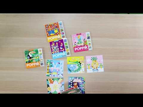 Poppik : les cartes en stickers à emporter partout !