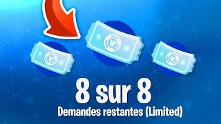 HOW TO HAVE TICKETS OF FREE REFUNDING IN ILLIMITÉ ON FORTNITE BATTLE ROYALE... 😱
