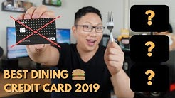 Alternatives to the Uber Credit Card | Best Dining Cards 2019
