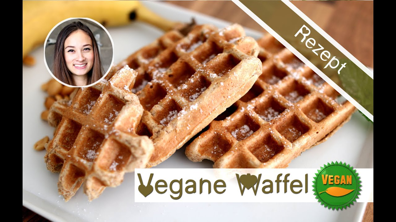 waffeln selber machen waffelrezept vegan backen gesunder snack vitamix youtube. Black Bedroom Furniture Sets. Home Design Ideas