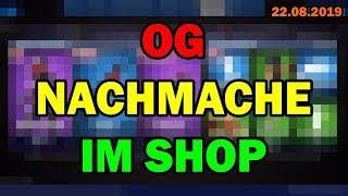 😡 WTF! OG NACHMACHE SKIN new in Fortnite Shop today 22 8 Fortnite Item Shop 22 August 2019