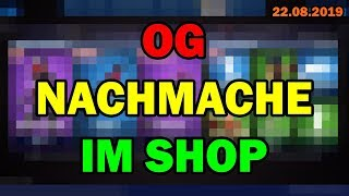 😡 WTF ! OG NACHMACHE SKIN nouveau dans Fortnite Shop aujourd'hui 22 8 Fortnite Item Shop 22 août 2019