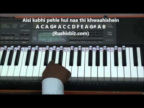 Chahun Main Ya Naa Piano Tutorials  Aashiqui 2