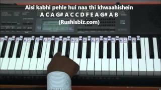 Chahun Main Ya Naa Piano Tutorials - Aashiqui 2 DOWNLOAD NOTES FROM DESCRIPTION.mp3