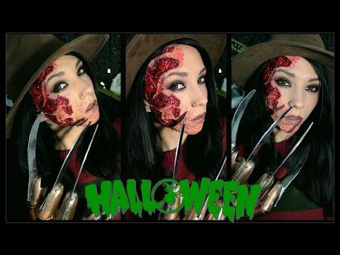 Freddy Krueger | Halloween Makeup - YouTube