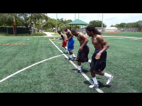 BURST ATHLETICS: Explosive Football Training