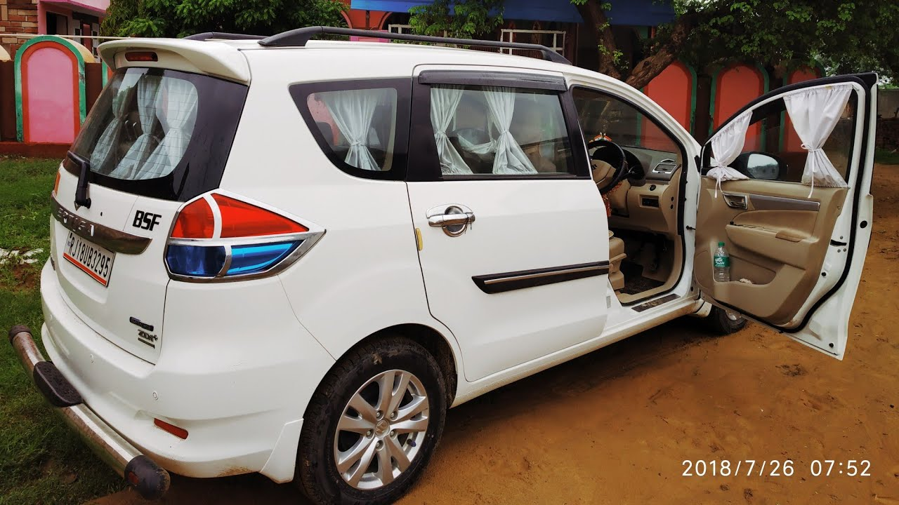 Ertiga Zdi Review And Know Accessories Price Led Fog Light Bumper Mating Roof Rails Youtube