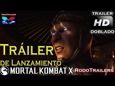Mortal Kombat X. Trailer de Lanzamiento. Doblado al Español Latino.