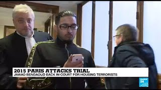 "2015 Paris Attacks: ""Terrorist landlord"" Jawad Bendaoud in court for housing attacks' perpetrators"