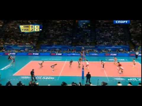 Волейбол, финал, Китай   США  Женщины
