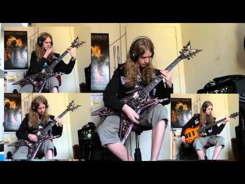 Metallica - Ride The Lightning Guitar & Bass Cover (B Tuning)