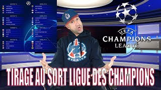 RÉACTION TIRAGE AU SORT LIGUE DES CHAMPIONS - Azéd Stories -