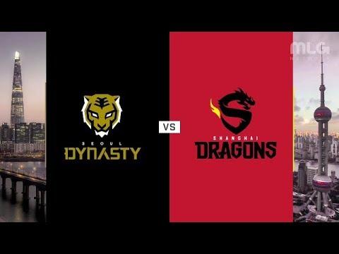 Seoul Dynasty vs Shanghai Dragons vod