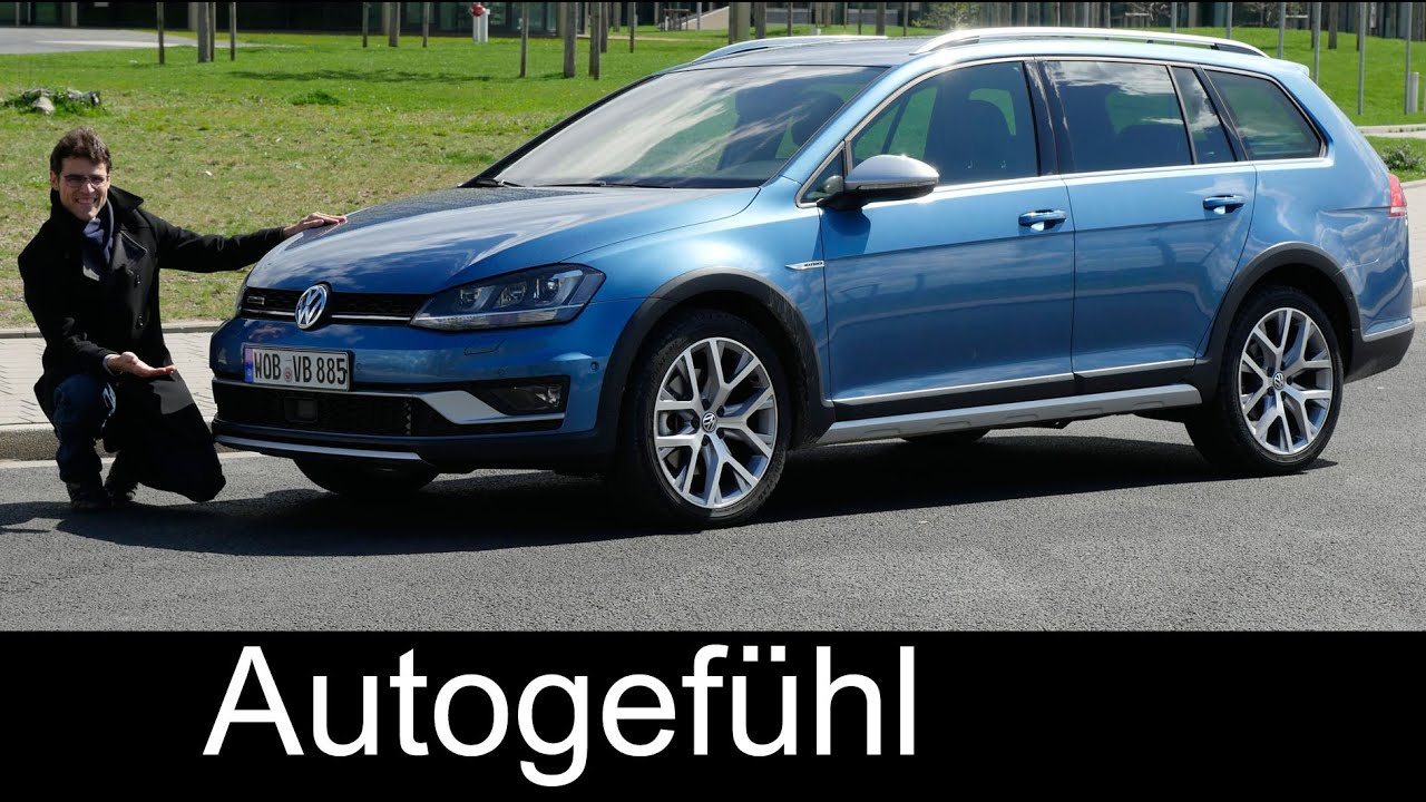 Vw Volkswagen Golf Alltrack Full Review Test Driven