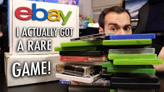 Paid $130 For Random Games From eBay - PS4, Xbox One, PS3, Wii, PSP, Xbox, SNES, and More.