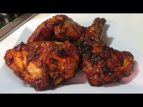BBQ Chicken in the Oven - Easy to follow recipe