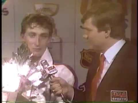 Wayne Gretzky 1985 Conn Smythe Trophy
