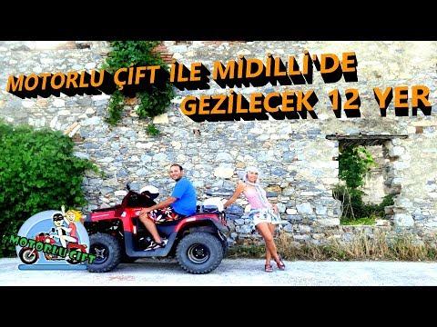 MOTORLU ÇİFT ile MİDİLLİ ( LESBOS ) ADASINDA GEZİLECEK 12 YER