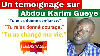 Un témoignage frappant d'un technicien en génie civil sur Abdou Karim Gueye