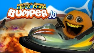 BUMPING BUTTS IN BUMPER.IO! [Annoying Orange Plays]