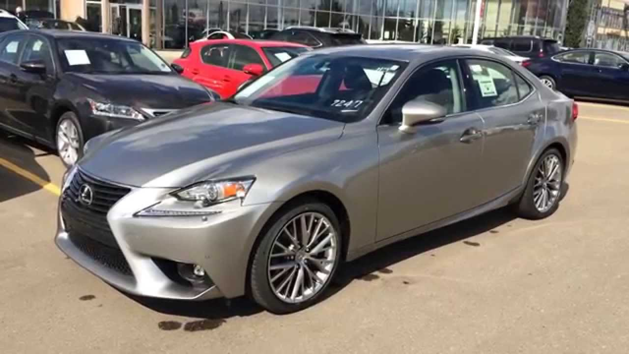 2015 lexus is 250 awd atomic silver on black luxury. Black Bedroom Furniture Sets. Home Design Ideas