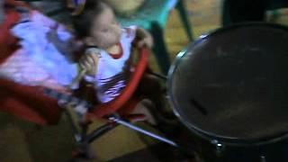 our future drummer boy