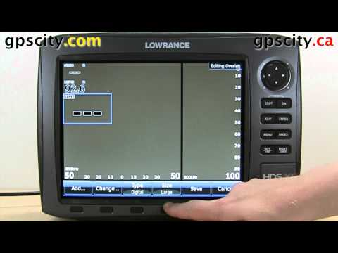 Page Settings On The Lowrance HDS 10 Generation 2 With GPS City