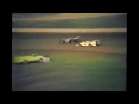 1985 races at Black Hills Speedway #21 late model heat race