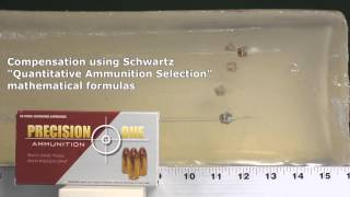 Glock 42 G42 ammo test: Precision One .380 ACP review in ClearBallistics gelatin