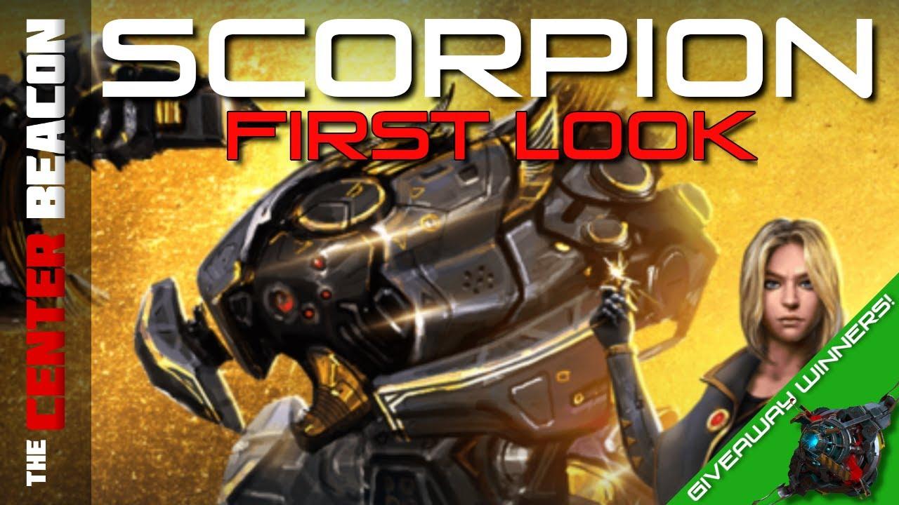 War Robots | Scorpion First Look + Giveaway Winners!