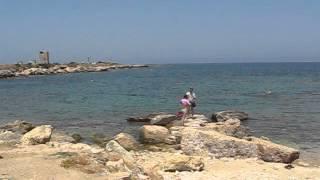 Курортная часть сирийского побережья Средиземного моря. MVI 4218
