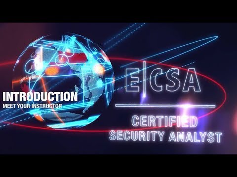 15dc5fe386e8b EC-Council Certified Security Analyst (ECSA) v10 - Meet Your Instructor