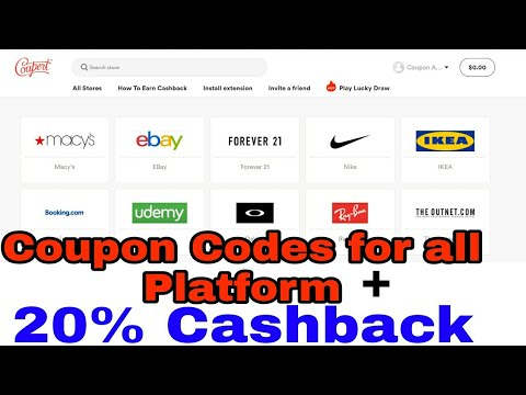 Coupon Codes for Amazon Flipkart ||Coupert Review||Coupert – The most popular Online Coupon Finder.