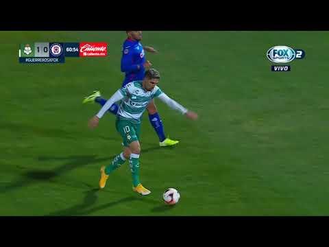 Gol de D. Valdés | Santos 1 - 0 Cruz Azul | Liga BBVA MX - Guard1anes 2021 - Jornada 1