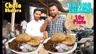Funniest Ever Chole Bhature Eating Challenge | Chola Bhatura Competition | Food Challenge India
