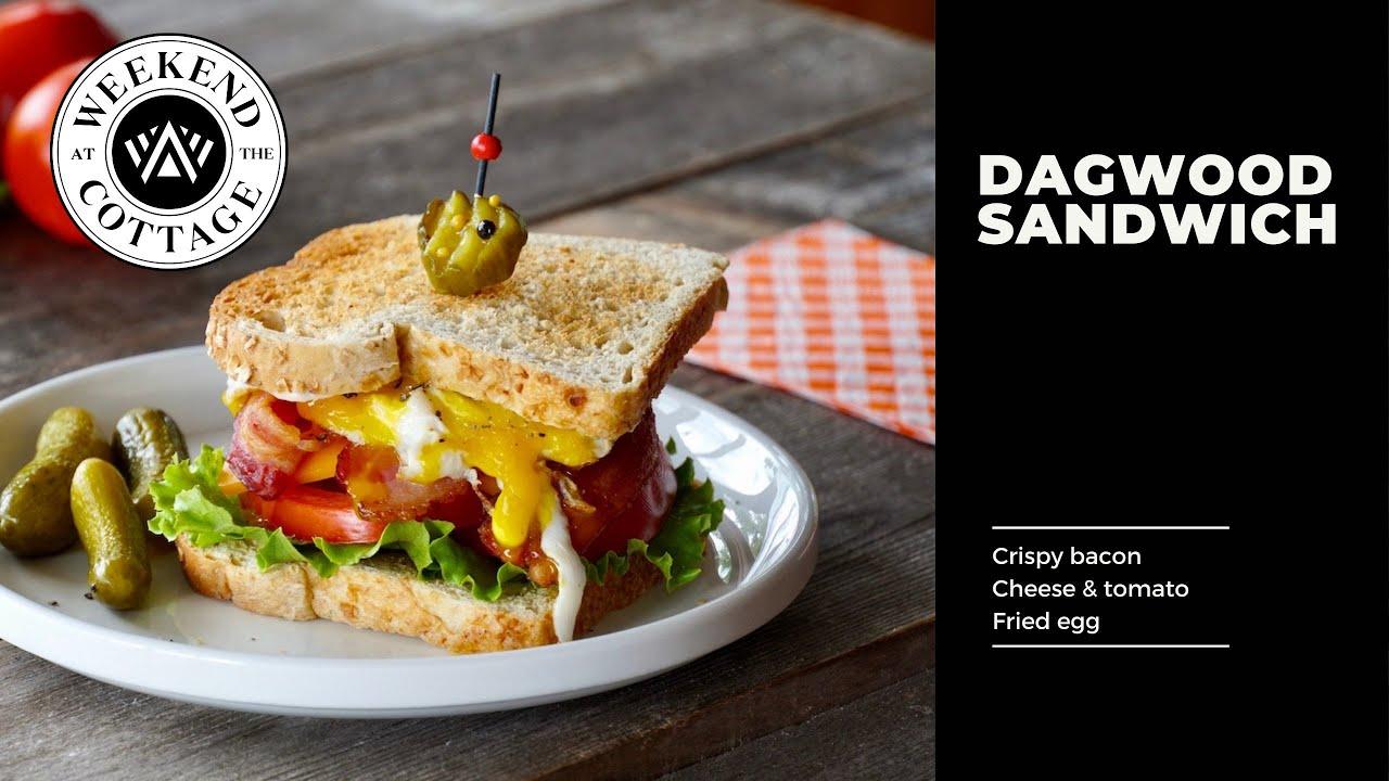 American Classic The Dagwood Sandwich Recipe Youtube