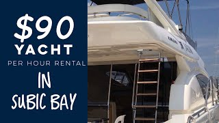 Subic Yacht Club Rental Price