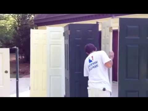 Spraying interior doors interior house painting youtube spraying interior doors interior house painting planetlyrics Choice Image