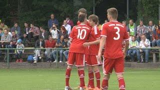 FC Bayern München vs. FC Wacker München 15:0 - Lucas Scholl und Gianluca Gaudino trumpfen auf