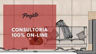 COMO É A CONSULTORIA DE INTERIORES ON-LINE DA DONAKAZA