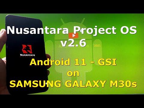 Nusantara Project OS v2.6 Android 11 for Samsung Galaxy M30s